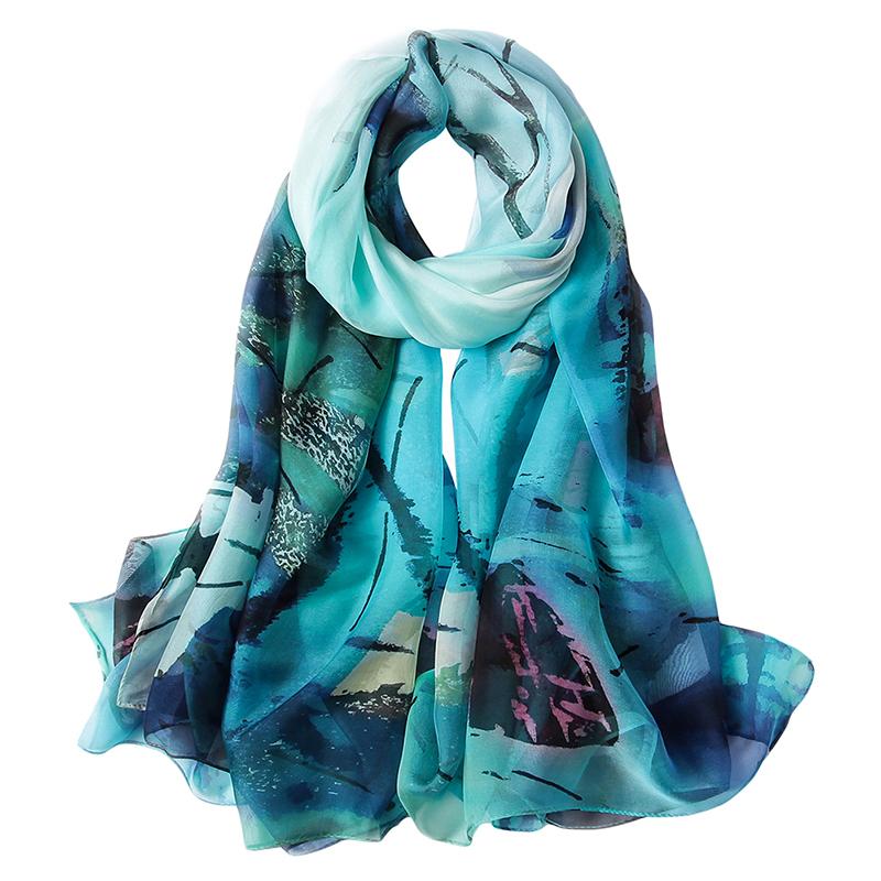 8f4379b3ac3f8 Fashion wholesale blanket scarf shawl scarf hangzhou printed chiffon  georgette floral chiffon silk scarf