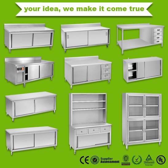 2014 Commercial Stainless Steel Kitchen Cabinet Bn-c01 - Buy Kitchen  Cabinet,Stainless Steel Cabinet,Commercial Kitchen Cabinet Product on  Alibaba.com