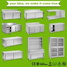 Stainless Steel Kitchen Cabinet Stainless Steel Kitchen Cabinet Suppliers And Manufacturers At Alibaba Com