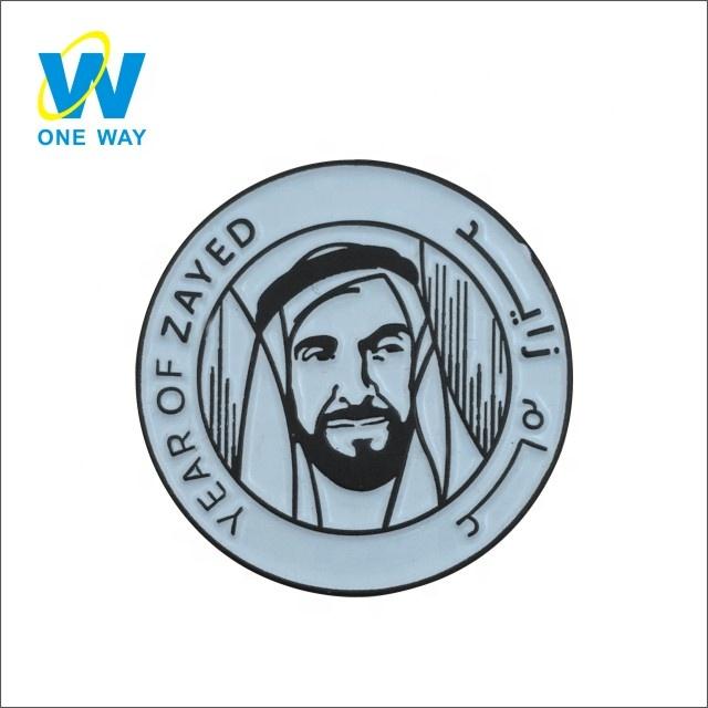 Factory No Minimum Promotion Gifts enamel epoxy dubai lapel pin badges