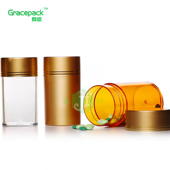 Hot sale pharmaceutical HDPE medicine plastic pill bottle 150ml empty capsule bottle,chewing gum bottle with Easy-pulling Lid