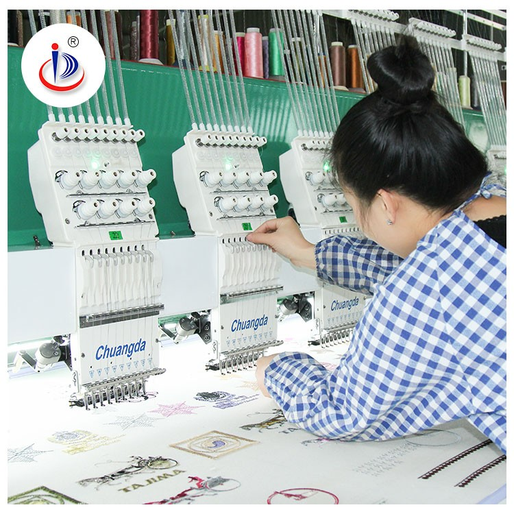 CHUANGDA OEM CUSTOMERIZED WONYO EMBROIDERY MACHINE