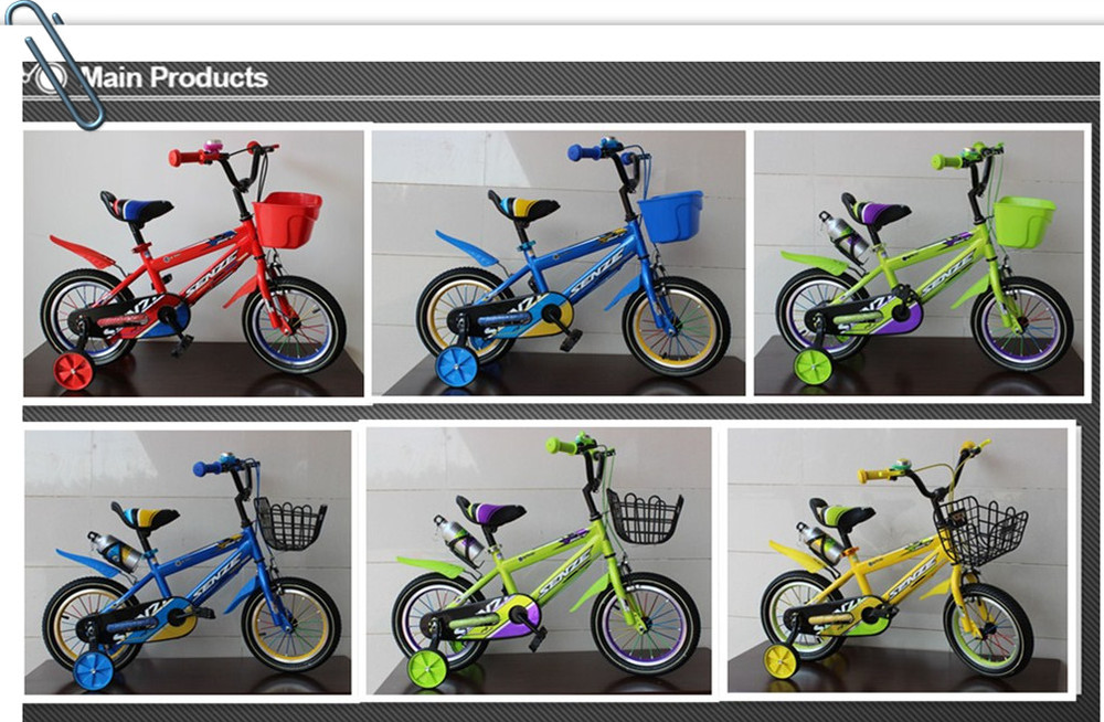 boy colorful kids bike with good quality bicycle LYQ005