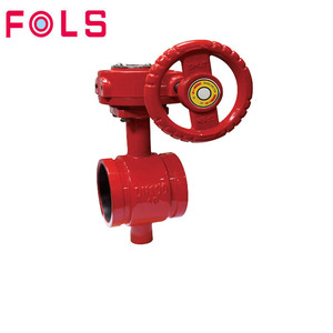 fire protection system handwheel clamped butterfly valve