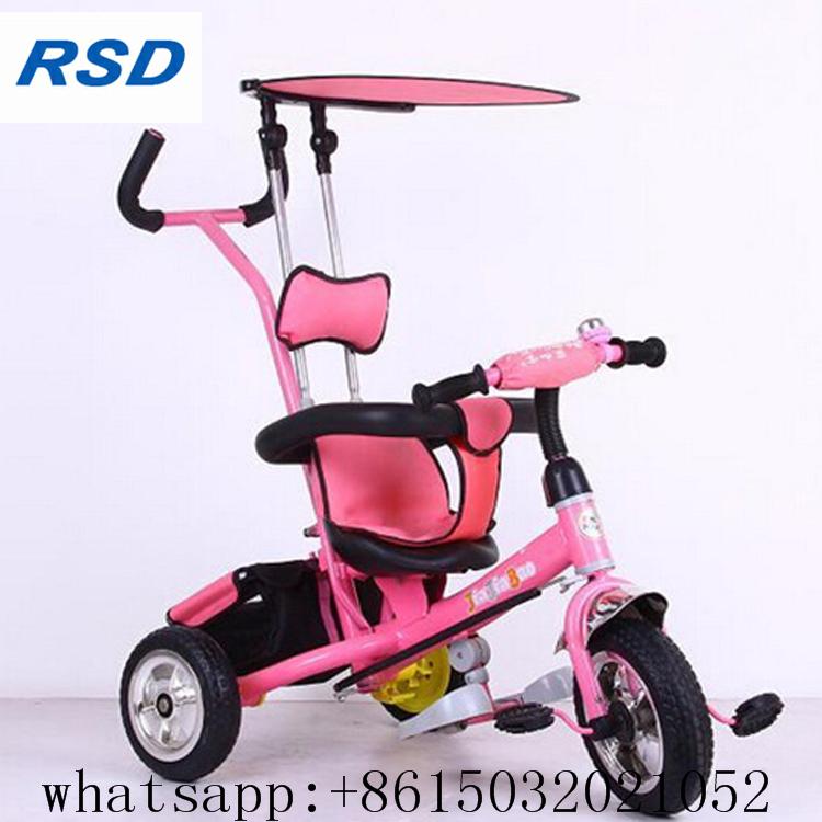 מקורי תלת אופן לילדים פעוט ילדים גלגל אופניים 3 אופני דוושת, עגלה מתקפל HI-35
