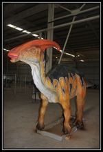 Silicone rubber mechanical simulation 6m dinosaur model