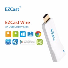 EZCast Wire TV Wireless Dongle 1080P WiFi Miracast Airplay DLNA TV Stick for Mirroring Streaming Hd~mi Converter