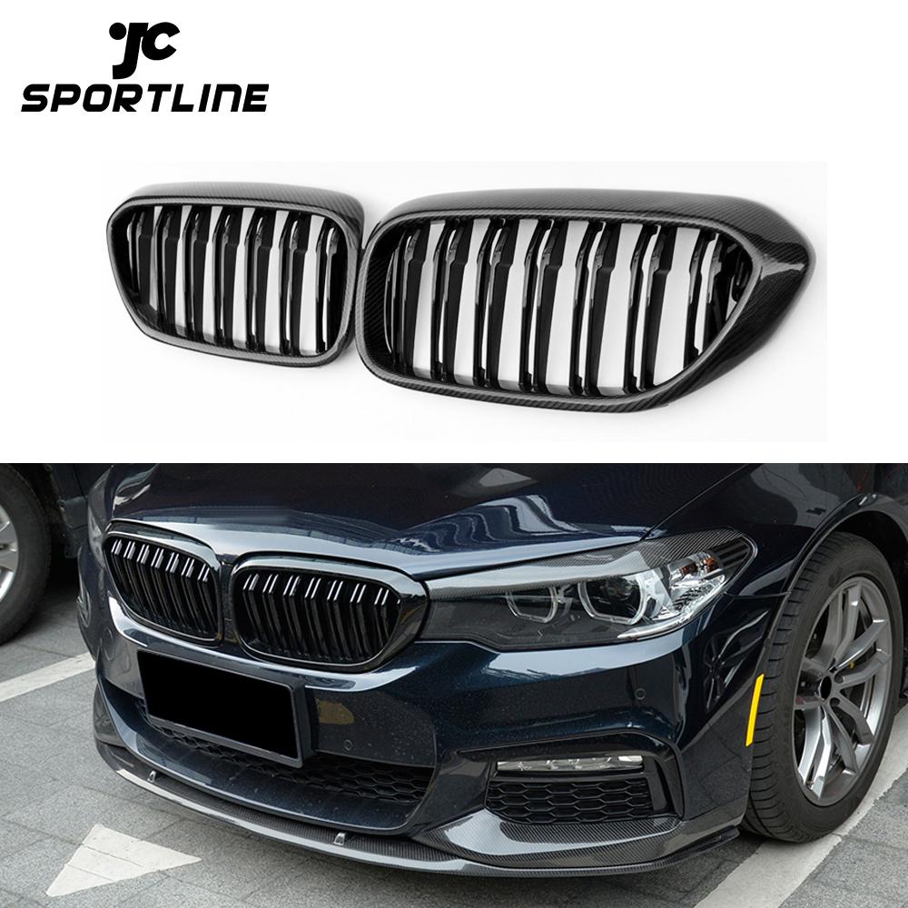 Para BMW 3 Series GT F34 2013-2018 rejilla de lamas de riñón 9 M Sport 3 cubiertas de color