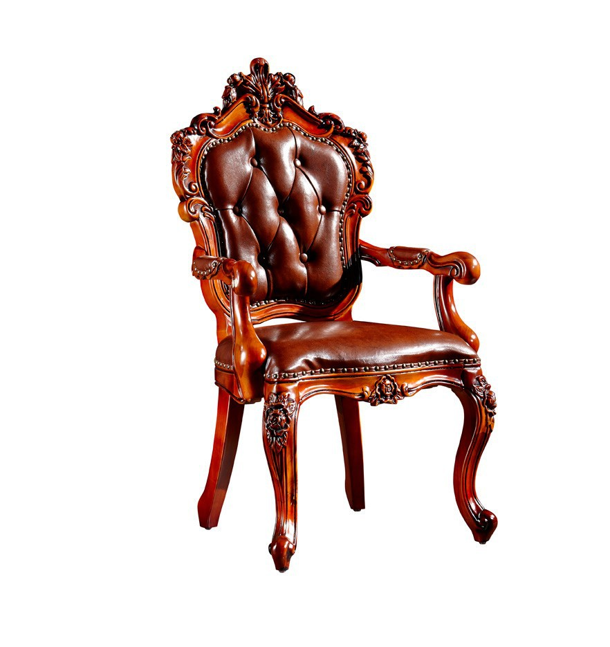 BISINI Luxury Hand Carved Wooden Dining Chair with Arm, View Dining Chair,  BISINI Product Details from Zhaoqing Bisini Furniture And Decoration Co.,