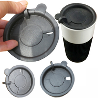 BPA Free plastic paper cup lids PP coffee cup cover factory supply , plastic container lid for mug and teapot
