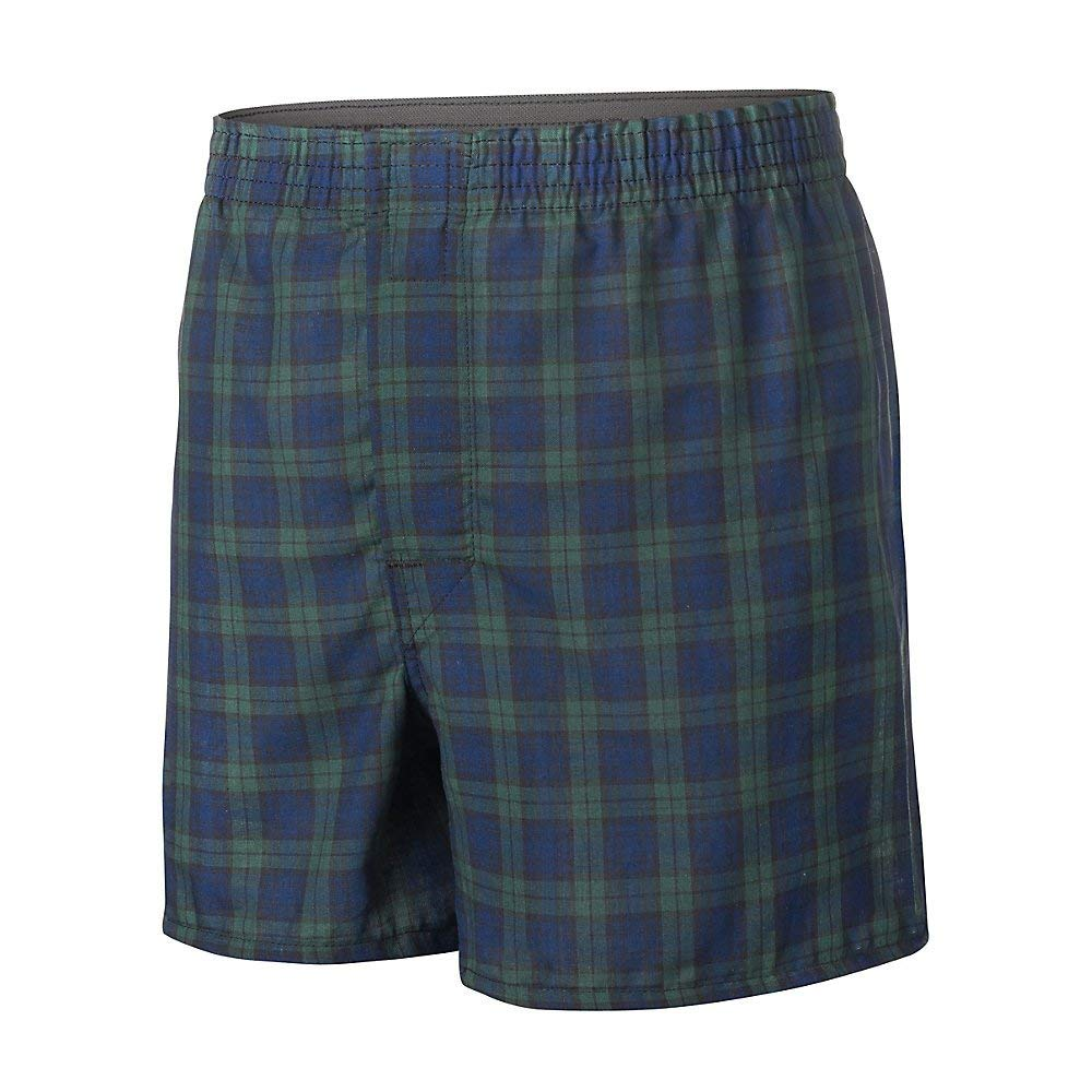 Hanes Boys Ultimate Tartan Boxer with Comfort Flex Waistband 3-Pack BU845C
