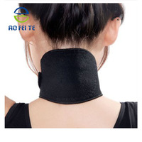 Aofit Orthopedic Adjustable Healthcare Warm Elastic Neck Support Tourmaline