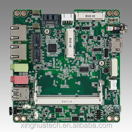 Advantech industrial mini pc motherboard Intel Atom E3826 DC 1.46 GHz UTX Industrial Motherboard with /Micro HDM