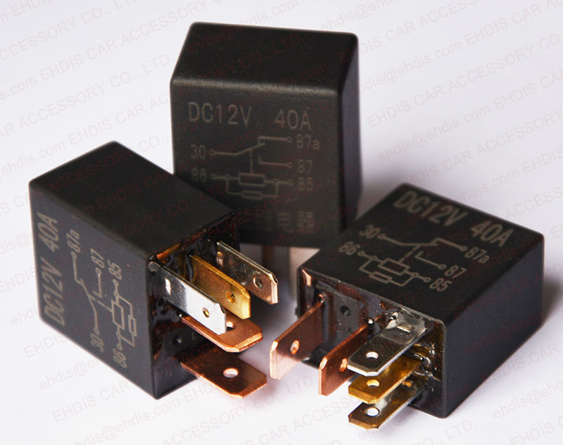 Solid State Relay Impulse Relay 12 Volt 5pin 40a Make In China Buy