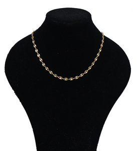 Wholesale jewelry 14k italian pvd plated cuban chain 8 Gram gold filled neck chain designs