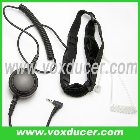 military double sensor throat vibration mic for Yaesu Vertex tracsceiver VX-350 VX-400 VX-300VX-400 VX-410 VX-420 VX-1R