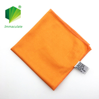 lint free streak free soft microfiber window glass cleaning cloth