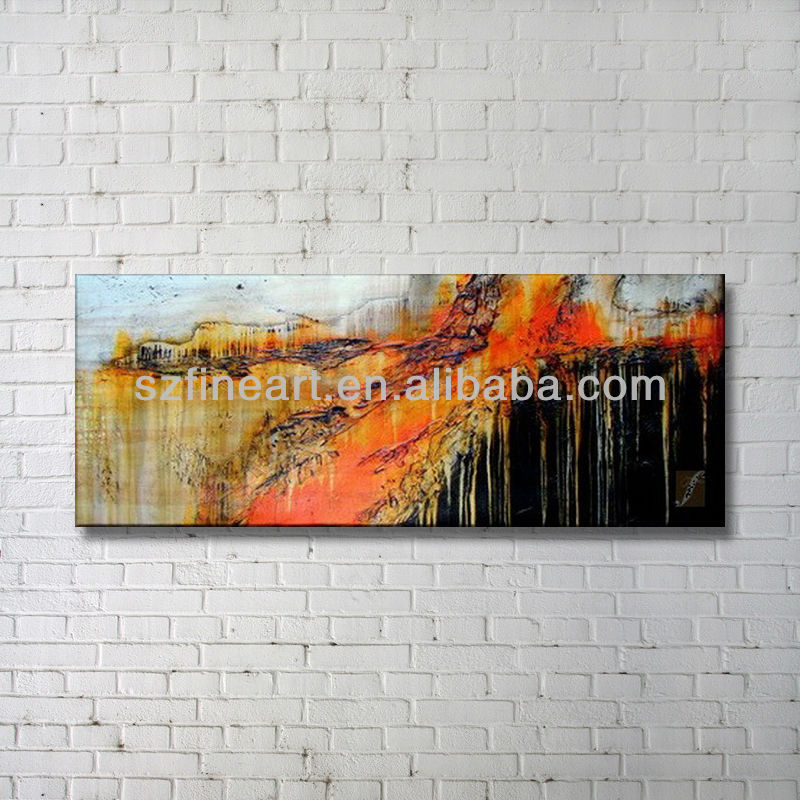 Interior Home Decor Latest Design Abstract Hotel Canvas Painting