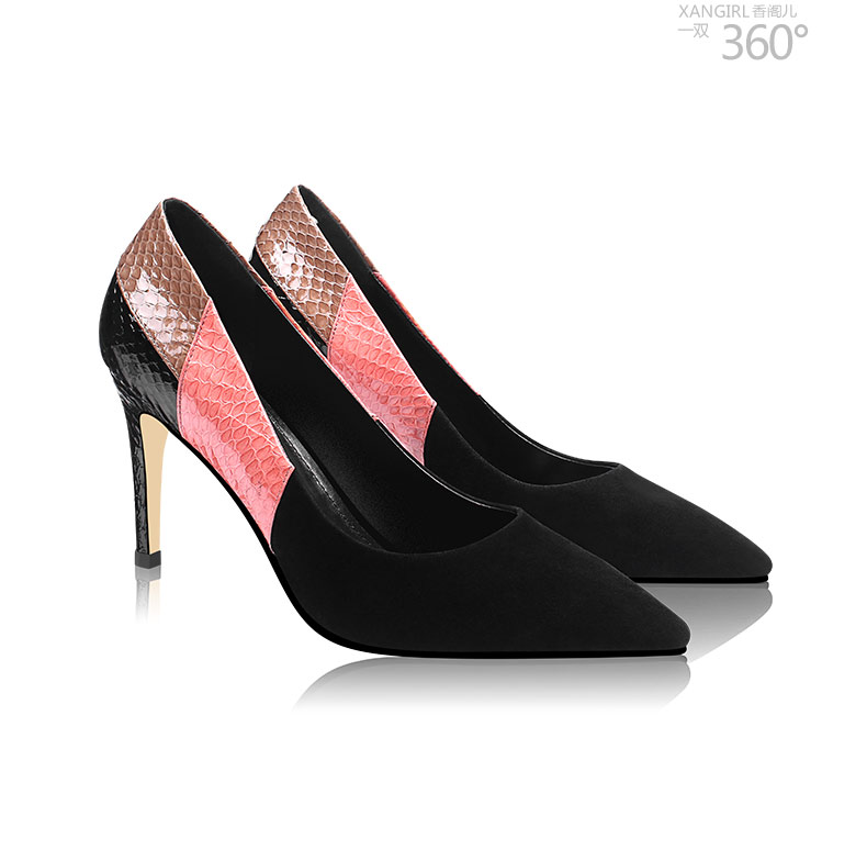 for shoes party luxury PVC toe pointed women Lady wear evening pumps zwpq1Ba