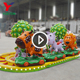 Zhengzhou Yueton Used Amusement Rides Electric Happy Farm Rides