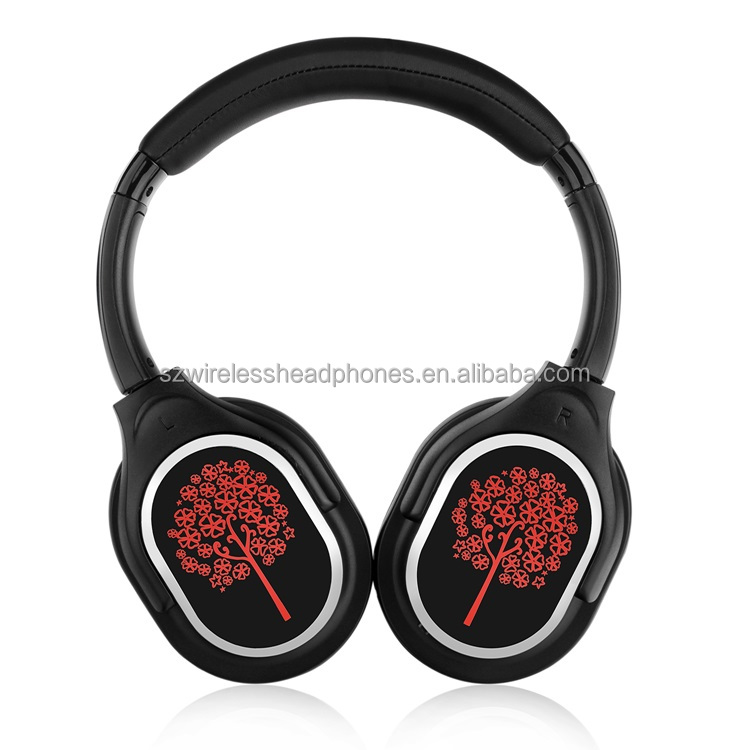 Factory Price Wireless Stereo Headphone Silent Disco Kit Over Ear Wireless Headphones RF998