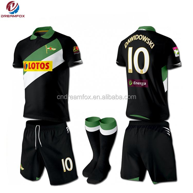 newest f48bd 0e168 Fashion Custom European Soccer Jerseys Cheap Wholesale Football Uniform For  Team - Buy Soccer Uniforms For Team,Europea Club Soccer Jersys,Football ...
