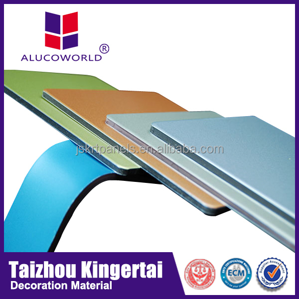 Alucoworld Kynar 500 PVDF Coated decorative durable interior wall material
