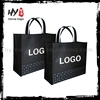 High quality pp non woven gift shopping bag, cheap logo shopping tote bags, woven shopping bag
