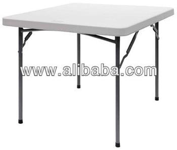 cosmoplast square folding table