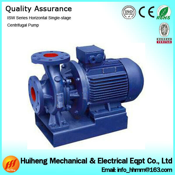 ISW Series In Line Centrifugal Pump