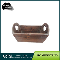 Functional Wooden Wine Crate Gifts Popular Quality Folk Hand Craft