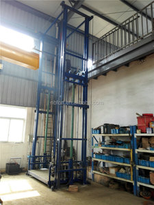 Hydraulic Telescopic Vertical Platform 7m Electric Lift Ladder