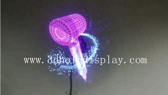 Wifi Controlled Air Holographic 3D Led Fan Holo Fan Hologram Generator  Display, View holographic 3d led fan display, SMX Product Details from  Shenzhen