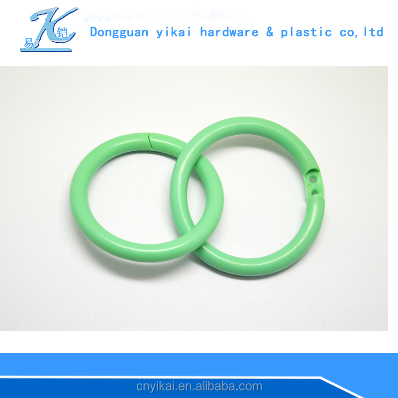 colored plastic snap/locking rings PP eco-friendly material