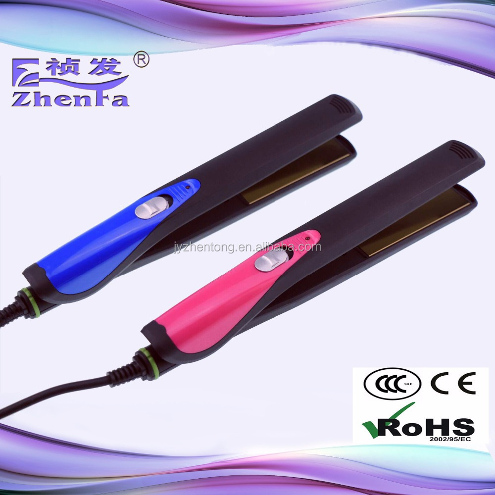 Beauty salon equipment hair straightener and curler ZF-3224