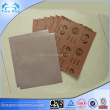 High quality red electro coated norton abrasive paper for paint