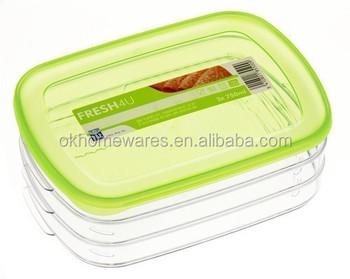 Genial Ham U0026 Cheese Slices 3 Tier Food Storage Fridge Container   Buy 3 Fridge  Container,Food Storage Fridge Container,3 Tier Food Storage Product On ...