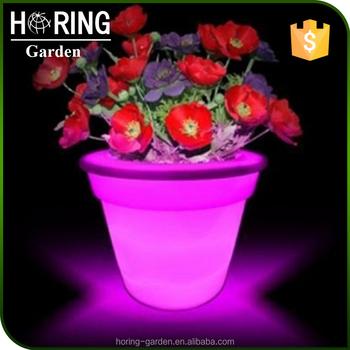 Led Solar Blumentopf Lichter Vase Garten Lampe Pflanzer Licht ...