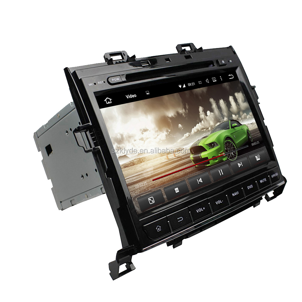 Andriod 6.0.1 For Alphard 2007-2013 9 inch car GPS navigation system 8 core HD Screen Free GPS MAP