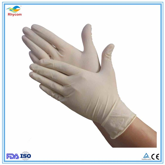 Best Selling Products non sterile china cheaplatex examination gloves/disposable medical gloves latex