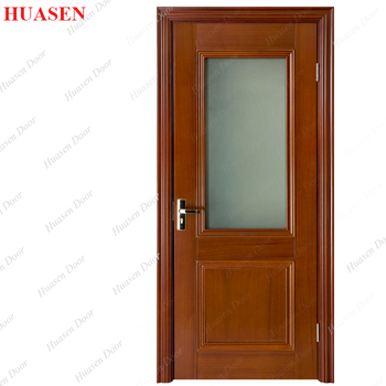 Waterproof Glass Exterior Doors Leaf Design For Home Buy Wood