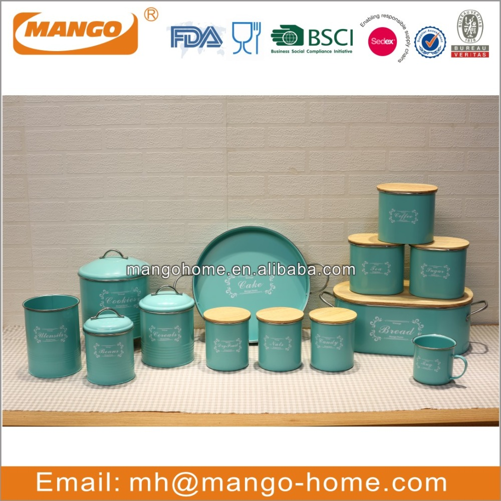 New Arrival Colorful Kitchen Canister Set