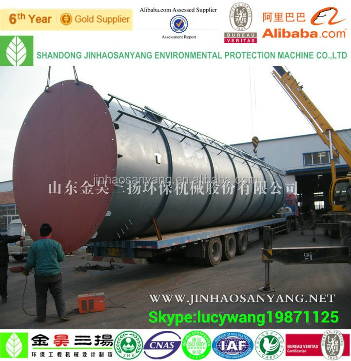 EGSB wastewater treatment anaerobic digester biogas reactor