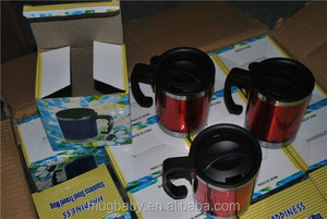 Smeta 4 Pillars Stainless Steel Coffee Cups