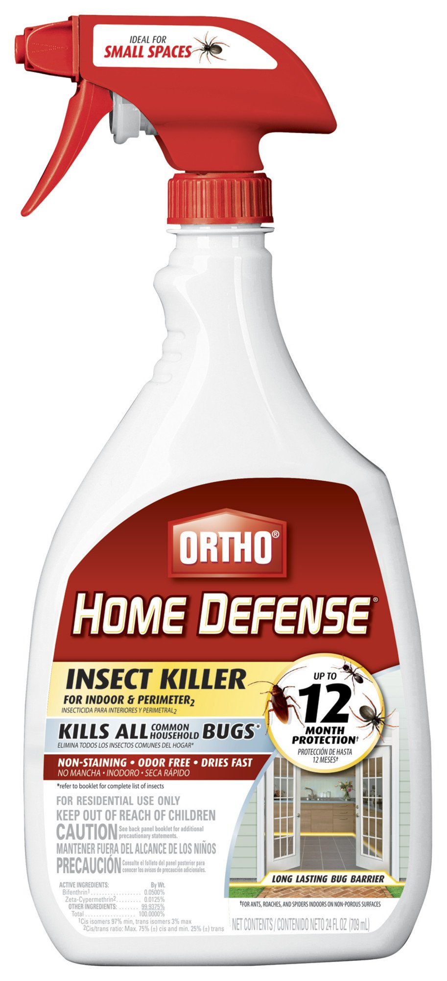 Ortho 0221310 Home Defense MAX Insect Killer for Indoor and Perimeter RTU Trigger