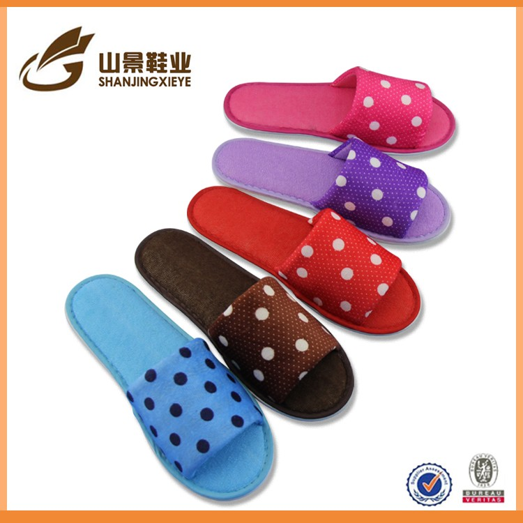 Chinese hot selling high quality slipper men women fleece slipper