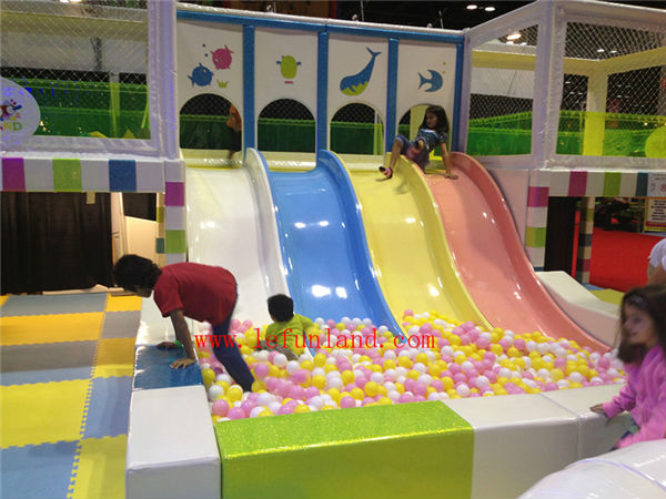 Lefunland équipements de jeux d'intérieur pour enfants de haute qualité coloré doux équipement De terrain De jeu Gonflable d'intérieur