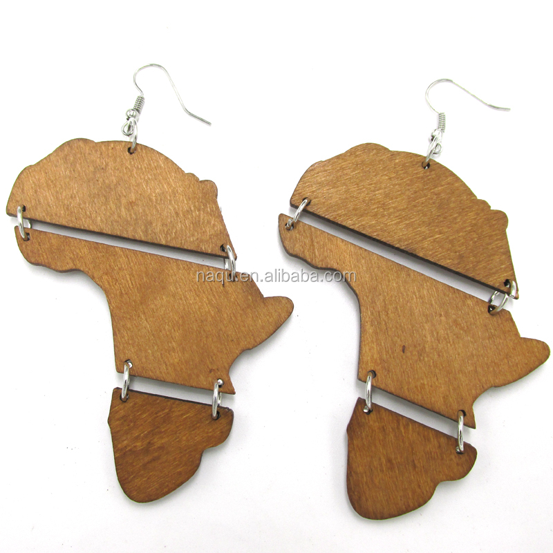 African Map Earrings African Map Earrings Suppliers and