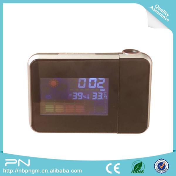 Réveil à projection numérique avec rétroéclairage LED Affichage