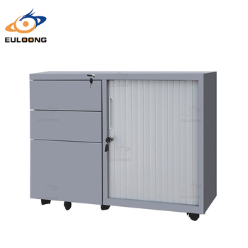 Tambour Door Mobile Storage Cabinet 3 Drawer Rolling Door Mobile Steel Storage Cupboard  sc 1 st  Alibaba & Tambour Door Mobile Storage Cabinet 3 Drawer Rolling Door Mobile ...